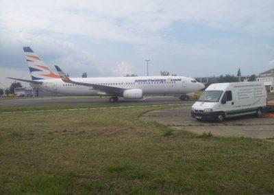 Realizace letiště